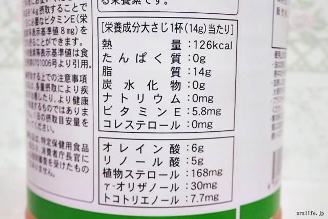 米油の成分