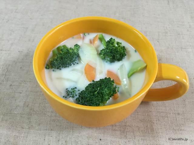ブロッコリーのミルクスープ