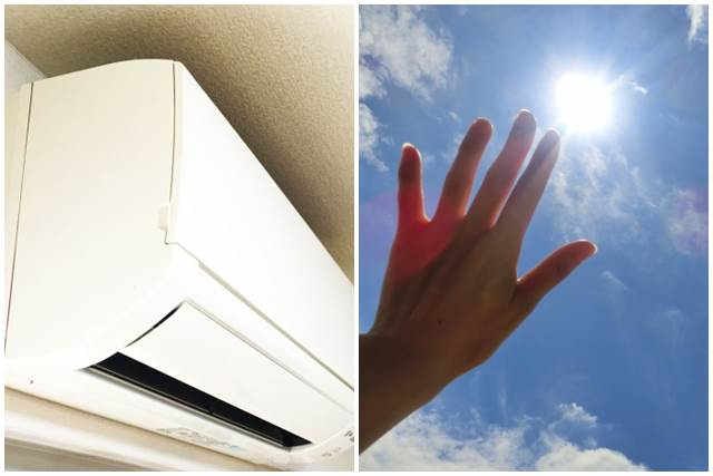 エアコンと紫外線