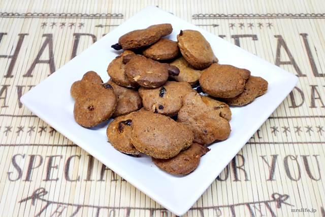 スペルト小麦を使ったクランベリークッキー