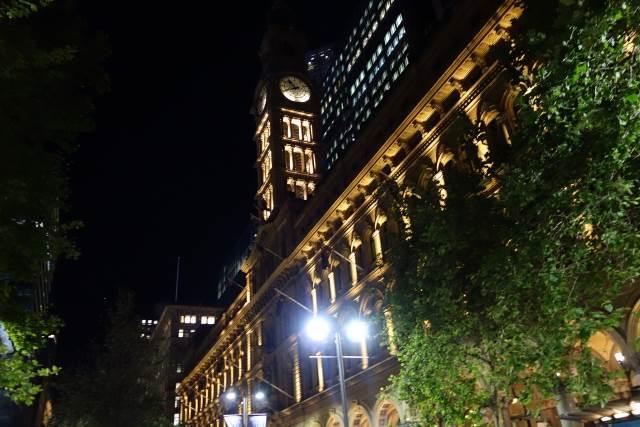夜のオーストラリア