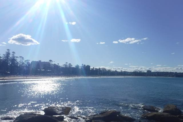 オーストラリアの海辺