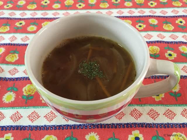 焦がし玉ねぎのスープ