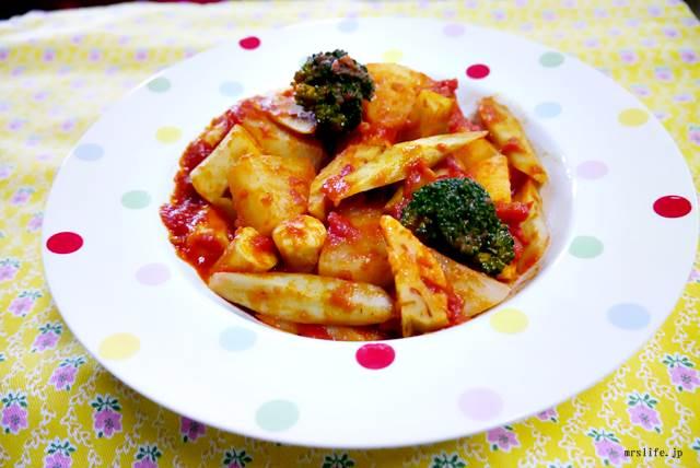 魚肉ソーセージ入り根菜のラタトウィユ