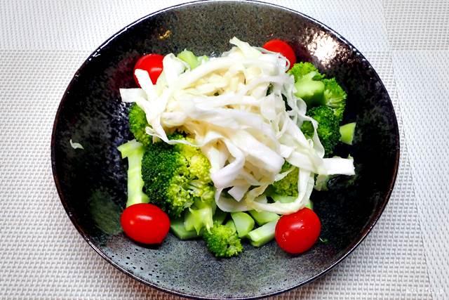 酢キャベツのサラダ