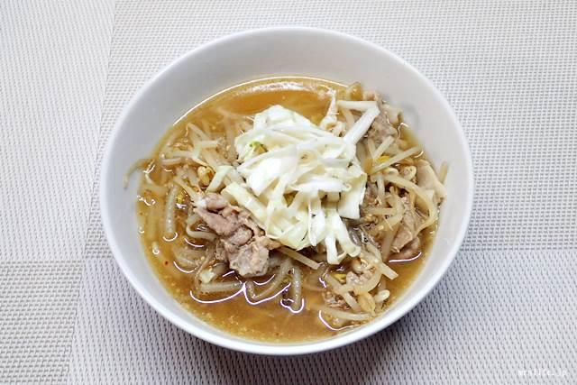 酢キャベツのもやしスープ