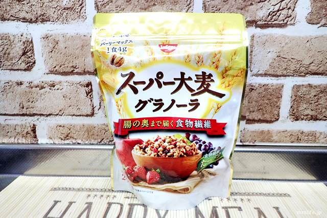 日清シスコ スーパー大麦グラノーラ