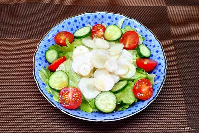 菊芋のサラダ