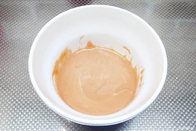 ニンニク油のマヨケチャディップ