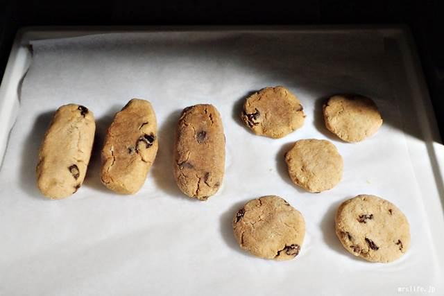 おからクッキーの完成