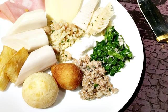 ブラジルの前菜料理