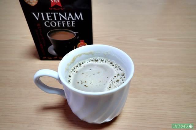 シンチャオ ベトナムコーヒーを飲んでみた感想